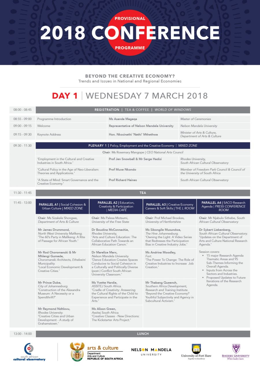 2018 Conference Programme